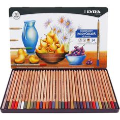 LYRA Rembrandt Polycolor Art Color Pencil 36 Colors Drawing Pencils for Student School Stationery Art Supplies Assorted Colors