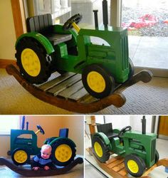 John Deere Rocking tractor @dkeilig look at this!