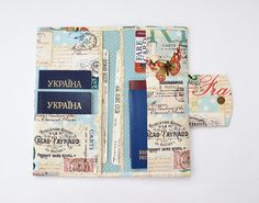 Travel wallets holders purses pouches cosmetic bags by anilachan 6 passport wallet document organizer family passport holder travel gifts travel accessories passport case map print world map gumiabroncs Image collections