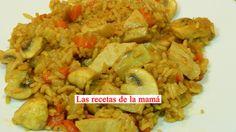 Las recetas de la Mamá: Receta rápida de arroz con verduras y soja