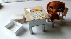How to Make Stationery - Letters, Envelopes, Pencils, & Pens: LPS Doll DIY