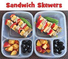 Cuz everything tastes better on a stick! kids! #easylunchboxes #kidfood #funfood