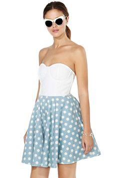 MinkPink On The Dot Dress