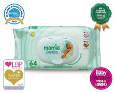 ALDI - Mamia Sensitive Baby Wipes - Fragrance Free
