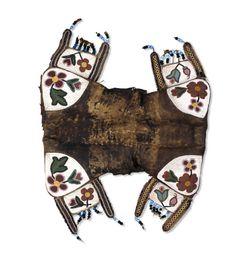 Blackfeet saddle, British Museum