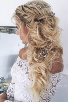 Ulyana Aster Long Wedding Hairstyles & Updos 12