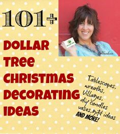 101+ #Dollartree #Christmas decorating ideas
