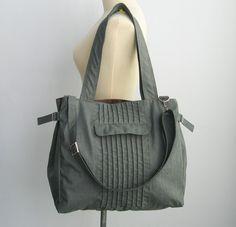 Verkauf grau Water-Resistant Tasche Wickeltasche von tippythai