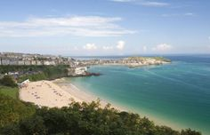 Set right next to the train station this was St Ives's premiere beach. It still retains a slightly upmarket feel