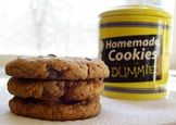 Easy Peasy Peanut Butter Chocolate Chip Cookies for Dairy-Free, Egg-Free, and Grain-Free Cravings Source by angellaallaa Egg Free Cookies, Gluten Free Cookies, Gluten Free Desserts, Yummy Cookies, Dairy Free Recipes, Vegan Desserts, Cookies Vegan, Gluten Free Peanut Butter, Peanut Butter Cookies