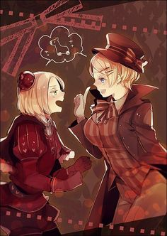Hetaween. Poland and Ukraine. Anime Hetalia (aph/Axis Powers Hetalia)