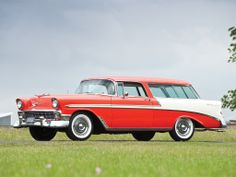 1956 Chevrolet Bel Air Nomad / 2-Door Station Wagon