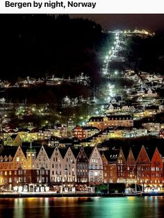 Bergen, Norway, Camping, Mansions, House Styles, City, World, Building, Places