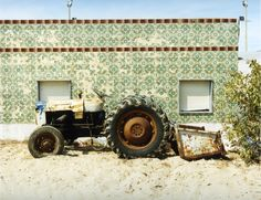 Culatra Traktor by Joachim Brohm - in Places and Edges at Brancolini Grimaldi Photography Sites, History Of Photography, Color Photography, Landscape Photography, Photography Illustration, Advertising Photography, Time In Germany, Galleries In London, Photojournalism
