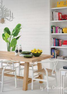 Prego Sem Estopa #diningroom #beachhouse #byAnaCordeiro