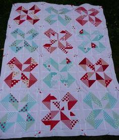 pinwheel star quilt block - Google Search
