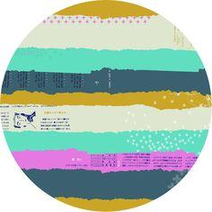Collaborative, Cotton and Steel, Bespoke, DOUBLE GAUZE, Ephemera Mustard