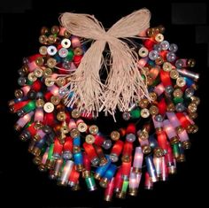 Bullet wreath well actually these r just the casings...love this