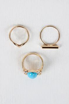 Turquoise Set Ring