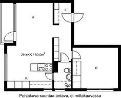 Piispantie, Pitäjänmäki, Helsinki, 2h+kk 50 m², SATO vuokra-asunto