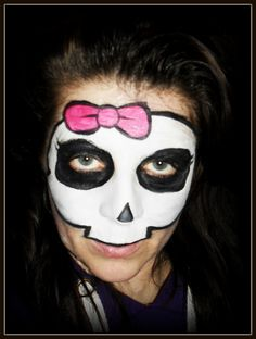 monster-high face painting