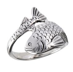 Green Eyed Lady - Sterling Silver Fish Ring , $29.00 (http://www.shopgreeneyedlady.com/jewelry/sterling-silver-fish-ring/)