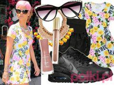 Wakacyjny styl Rihanny