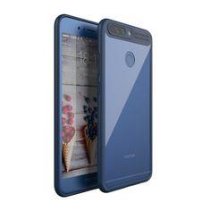 Coque Huawei Honor 8 Pro IPAKY Transparent - Bleu