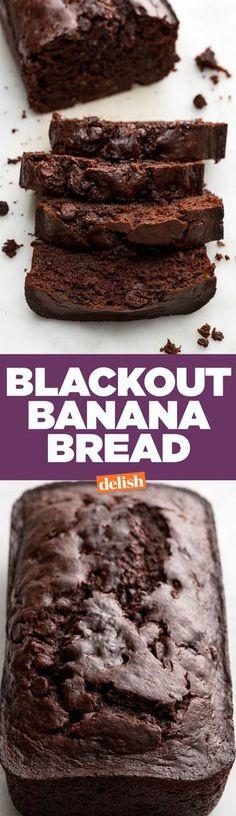 Blackout Banana BreadDelish