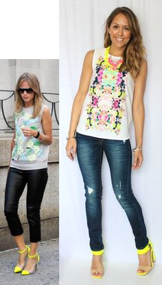 J's Everyday Fashion: Today's Everyday Fashion: Mirrored Prints