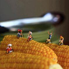 Bike corn.
