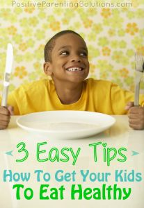 Ice Cream, Pizza, and Cookies – Oh My! How To Get Your Kids To Eat Healthy