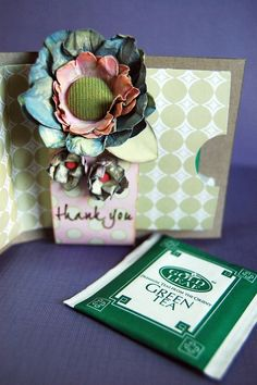 Scrap That Chat: TEA BAG HOLDER TUTORIAL