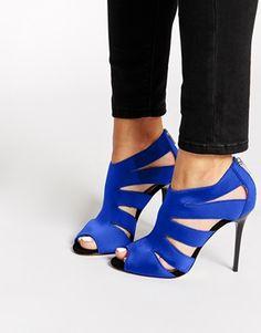 Agrandir Karen Millen - Sandales en néoprène - Bleu