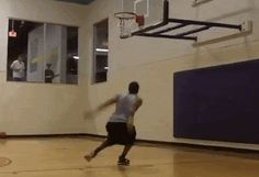 The Head-Above-The-Rim Leap
