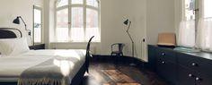 Creative Interior, Design, Hotel, Stockholm, and Clara image ideas & inspiration on Designspiration Design Hotel, House Design, Minimalist Bedroom, Minimalist Decor, Modern Bedroom, Minimalist Interior, Minimalist Kitchen, Minimalist Living, Minimalist Style