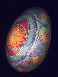 goose egg...whew!  Mark is a true artist!