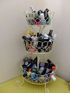 -Hello, Terri Lowe // A Beauty. Food. Fashion. & Life Blog.: Make Up Storage That ISNT Muji Acrylic Drawers.