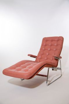 Vintage Bruno Mathsson Dux Lounge Chair Mid Century By