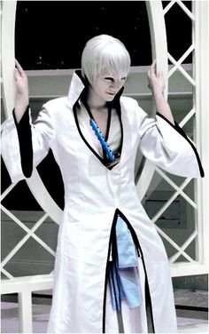 Ichimaru Gin from Bleach Cosplayed by Jii-Desu