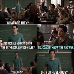 You were serious? - Teen Wolf  probably one of my favorite scenes.
