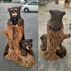 Forest Chainsaw Carving