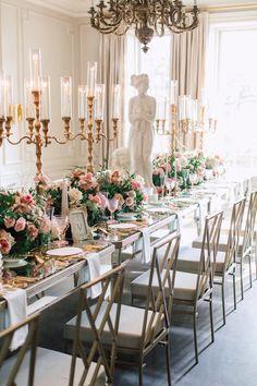 Grecian style at Graydon Hall Manor - Flowers Time Greek Wedding Theme, Graydon Hall Manor, Greece Architecture, Greek Decor, Grecian Wedding, Greece Wedding, Wedding Decorations, Table Decorations, Centrepieces