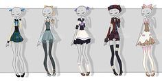 gachapon outfits 23 by kawaii-antagonist.deviantart.com on @DeviantArt
