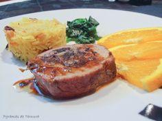 7gramas de ternura: Lombo de Porco Recheado com Morcela e Maçã