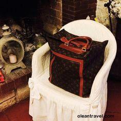 Vintage Louis Vuitton Monogram Travel Bag - http://oleantravel.com/vintage-louis-vuitton-monogram-travel-bag