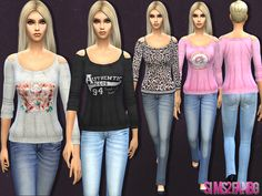 The Sims Resource: Casual set by sims2fanbg • Sims 4 Downloads
