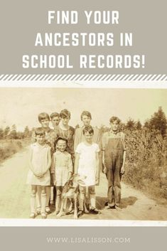 Using School Records In Your Genealogy Research Have you explred school records for your ancestors? Did you know these can serve as a partial alternative to the loss of the 1890 census? Learn how to find your ancestors in the school records. Genealogy Websites, Genealogy Chart, Genealogy Research, Family Genealogy, Old Yearbooks, Find Your Ancestors, Genealogy Organization, Family Research, Ancestry