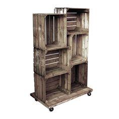 Fruit Crate Display Unit