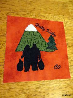 """Prepared for the project """"The Lyme Quilt"""" - an ongoing project to display at events such as protests, etc. for Holly from CO"""